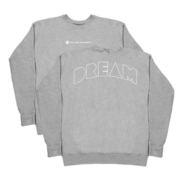 Drop Shoulder Crewneck - Athletic Heather