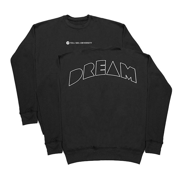 Drop Shoulder Crewneck - Black
