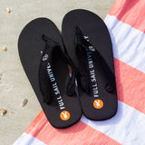 Children's Flip Flops - Black