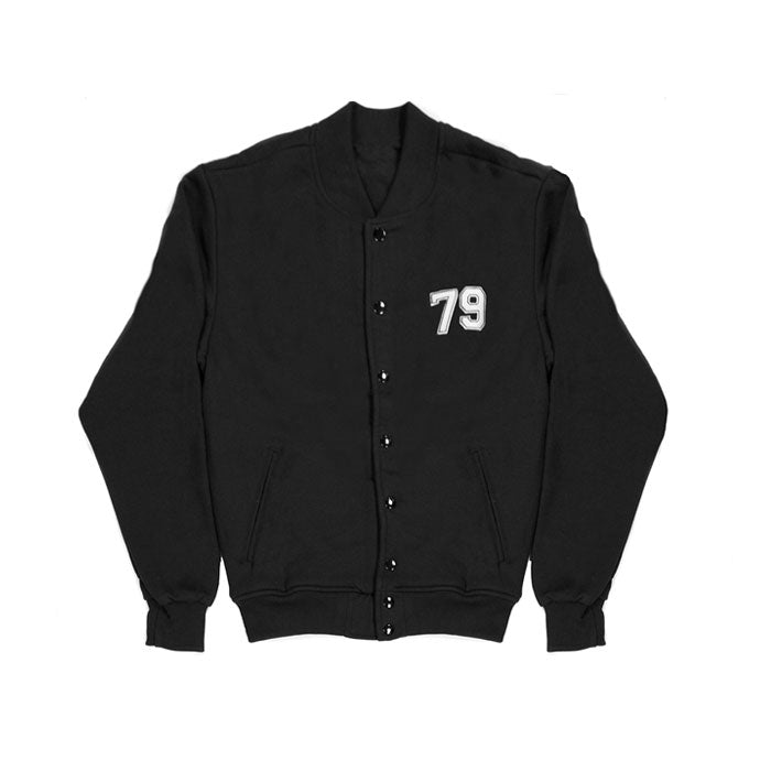 American Apparel Varsity Jacket - Black