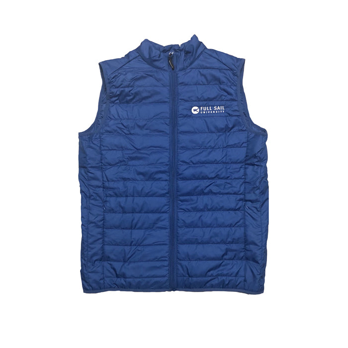 Packable Puffer Vest - Royal