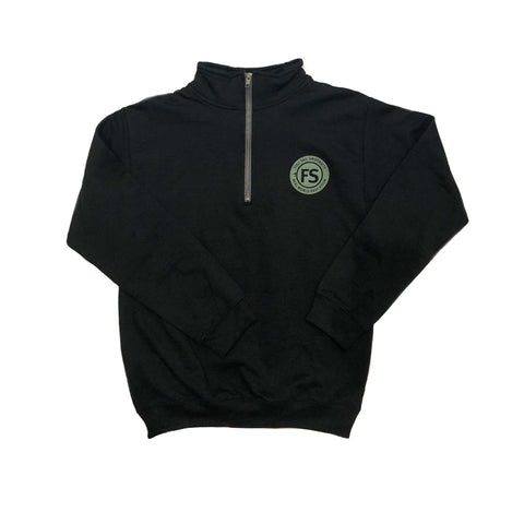 ¼ Zip P/O – Graphite Heather