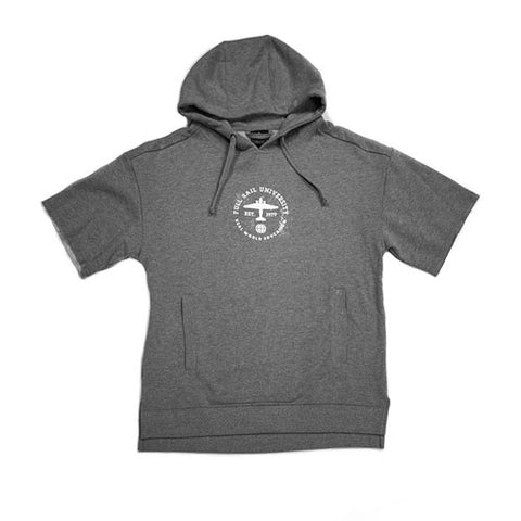 S/S Pullover Hoodie –  Gray