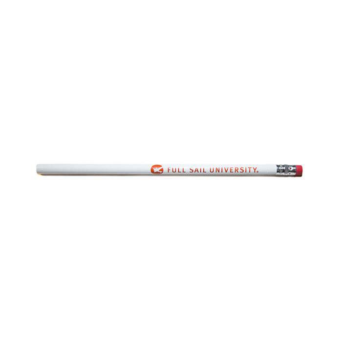 Logo Pencil - White