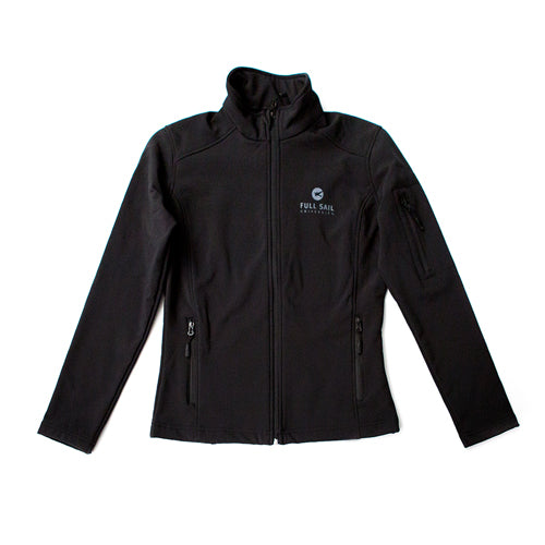 Women's Soft Shell Jacket - Black