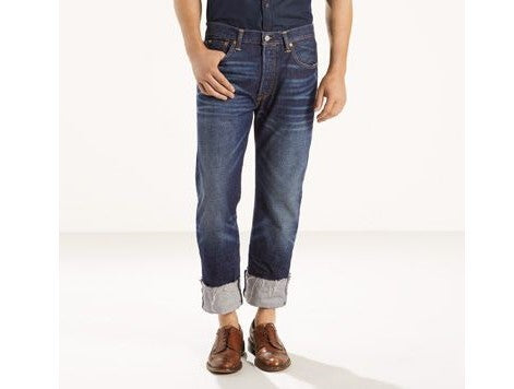 005012213 Levi's Premium 501 Original Fit Miller Selvedge - Stars and Stripes