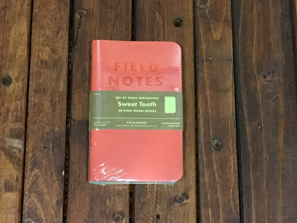 FNC-30 Field Notes Spring Sweet Tooth Plain 3-Pack - Stars and Stripes