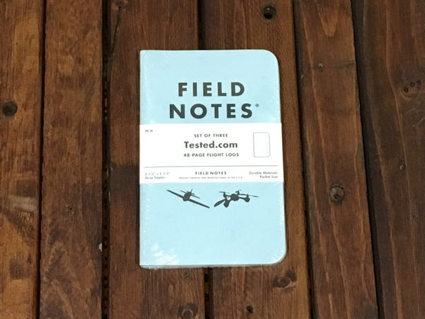 FN-26 Field Notes Flight Log 3-Pack - Stars and Stripes
