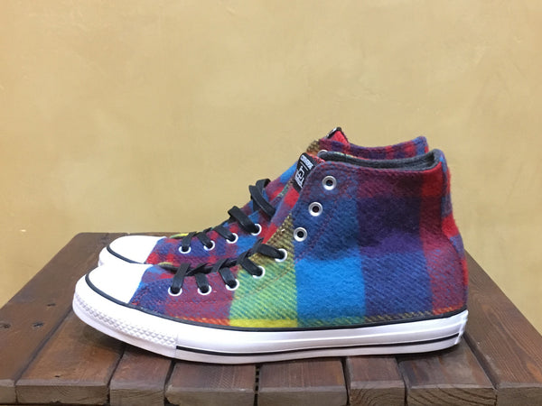 6c35ef13a4a1 149454C Converse x Woolrich Chuck Taylor All Star Hi Thunder Casino – Stars  and Stripes