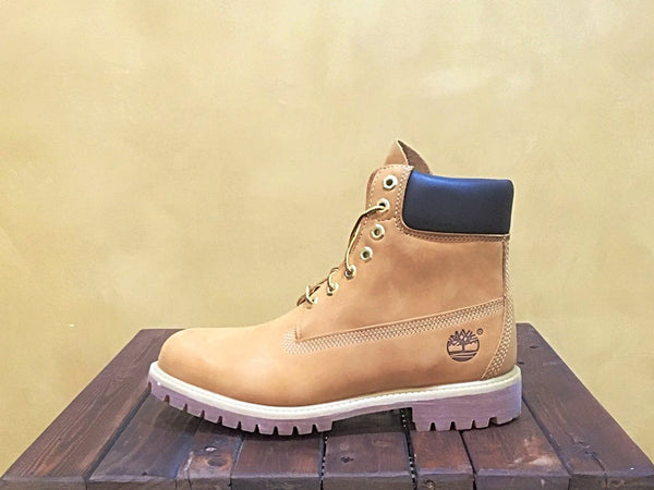 TB010061 Timberland 6 Inch Premium Boots Wheat Nubuck - Stars and Stripes