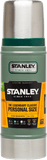 10-01228-023 Stanley Classic Vacuum Bottle 16oz Hammertone Green - Stars and Stripes