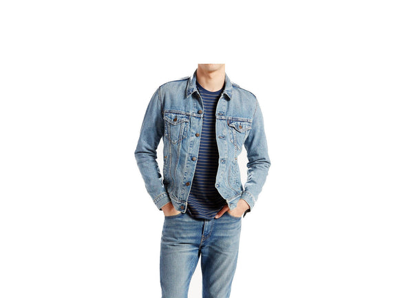 723340146 Levi's Premium The Trucker Jacket Icy