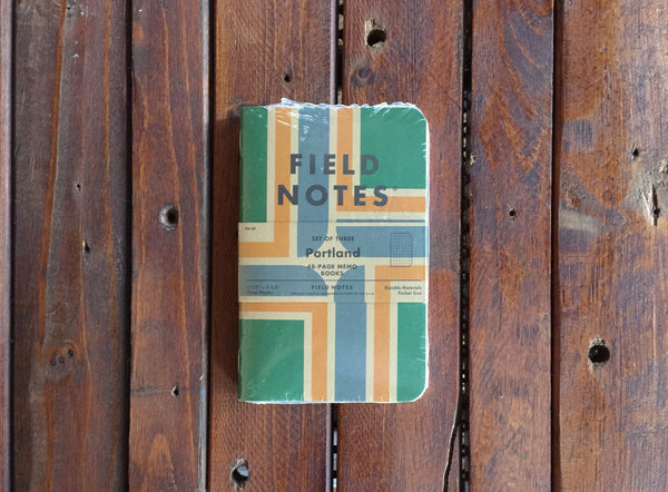 FN-32 Field Notes Portland Graph Paper 3-Pack