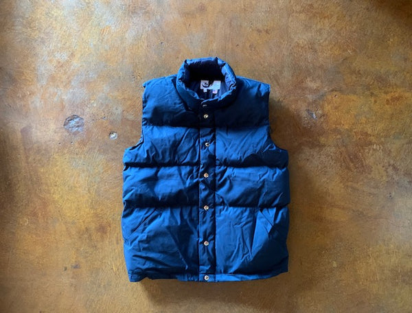 201 Crescent Down Works Italian Vest 60/40 Navy