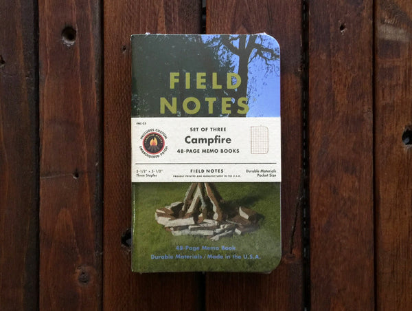 FNC-35 Field Notes Campfire Graph Paper 3-Pack