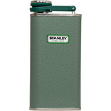 10-00837-045 Stanley Classic Flask 8oz Hammertone Green - Stars and Stripes