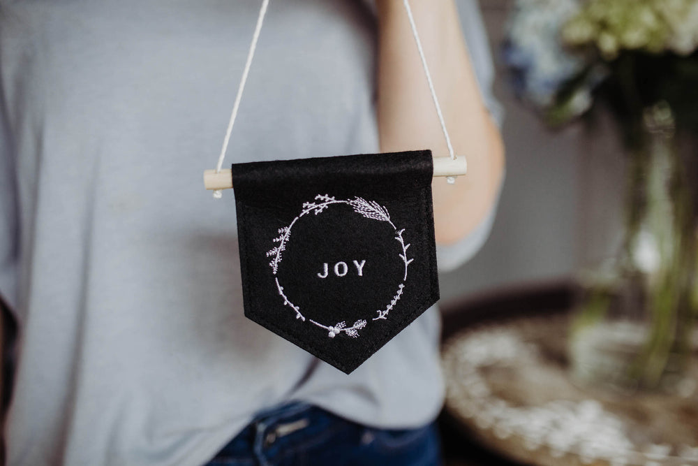 NEW! Felt Pennant | JOY (50% off!)