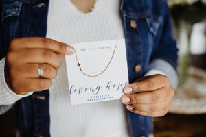 Cross Necklace | Living Hope