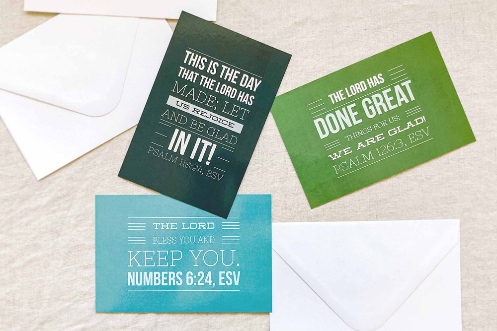 NEW! Celebration Scripture Cards | Set of Three
