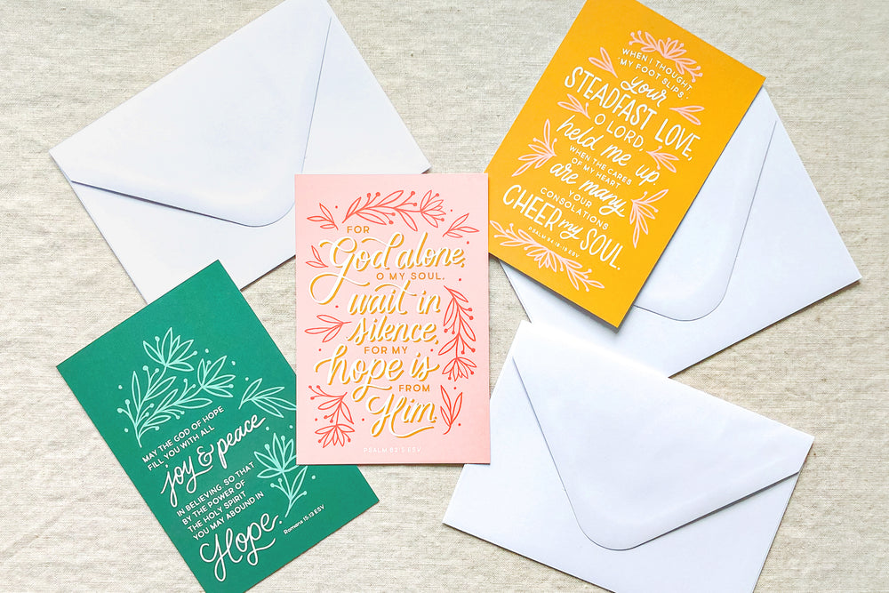 NEW! Hope Scripture Cards | Set of Three