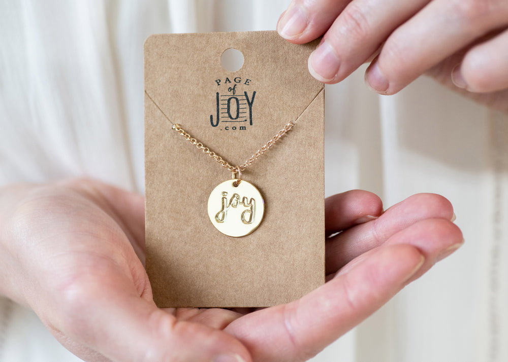 Long Pendant Necklace | Joy