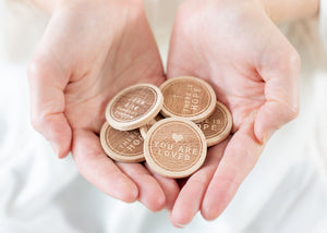 Scatter Joy Wooden Coins