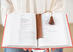 Redeemed Bookmark | Genuine Leather