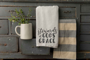 Oversized Tea Towel | Stewards of God's Grace