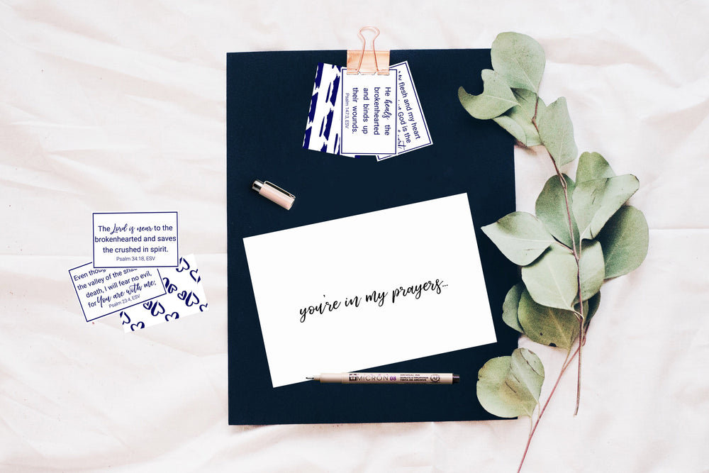 Psalms for Grief | Bible Verse Card Printables