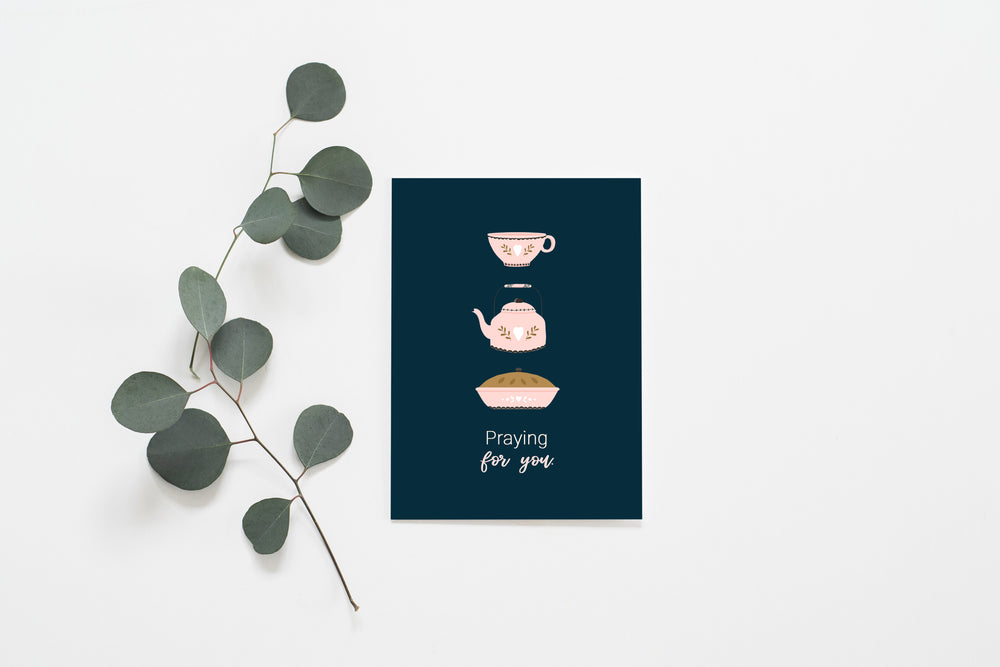 Praying For You | Folded Greeting Card