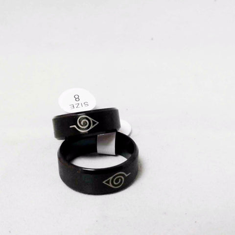 Black Naruto Ring