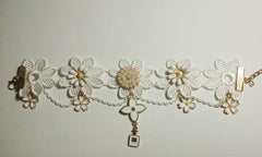 Retro Lace Anklet - Sara's Super Stock