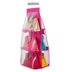 Handbag Organizer, Pink-The Cleaning Girl 2