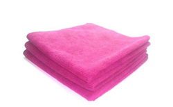 The Cleaning Girl, Inc. Signature Microfiber Towels, Set of 3, Pink-The Cleaning Girl 2