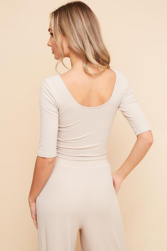 Knit Slinky One Shoulder Bodysuit