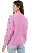 Sequin Pullover Sweater