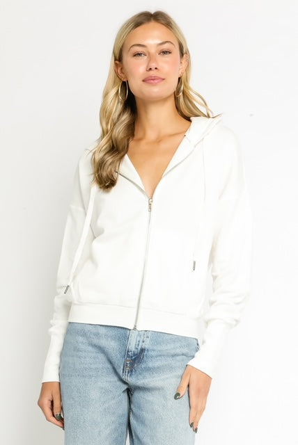 Long Sleeve Hoodie Zip Up