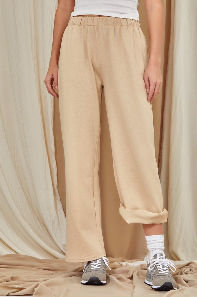 Wide Leg Sweat pant With Pocket