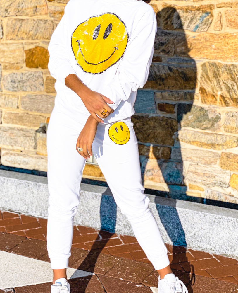 Happy Face Jogger Pant