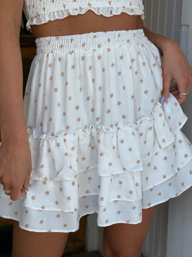 Flowy Tiered Skirt