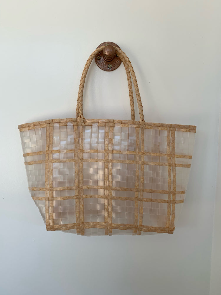2-1 Clear Checkered Bag