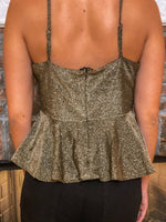 Front Twisted Cami Top
