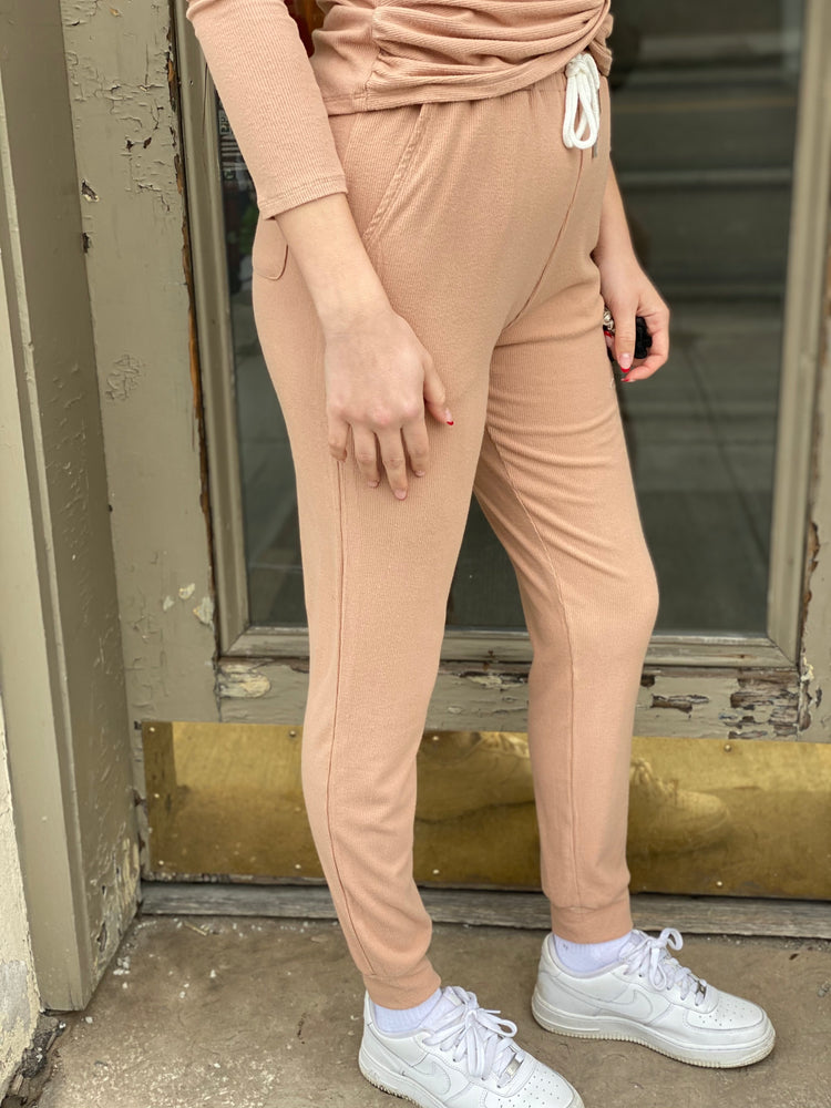 Brushed Viscose Lounge Pants