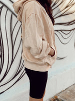 Oversized Zip Up Hoodie Sweatshirt