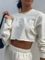 Cropped LA Sweatshirt