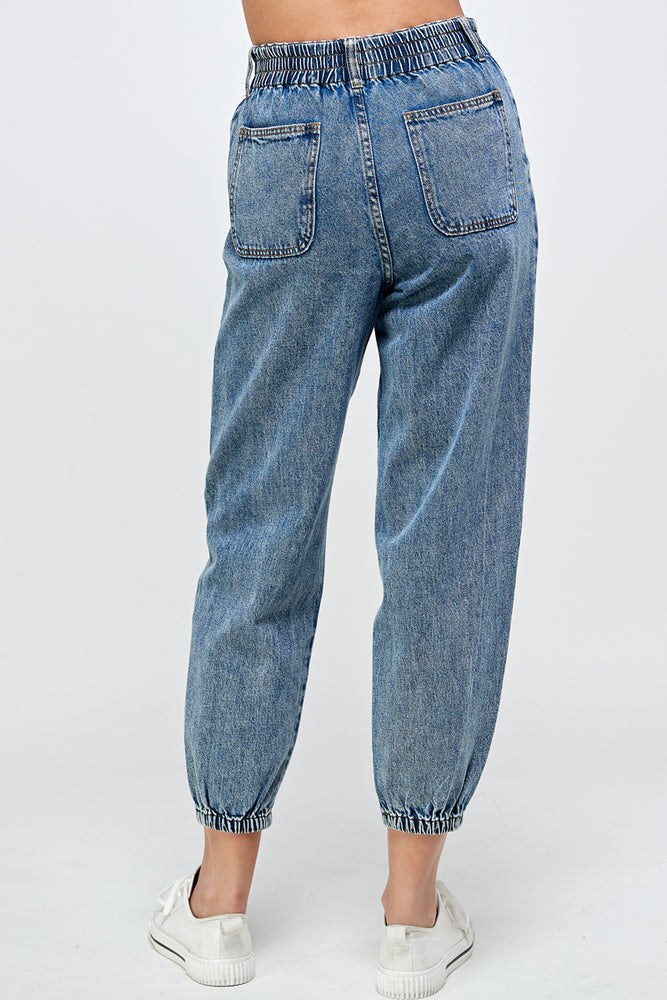 High Waist Denim Jean