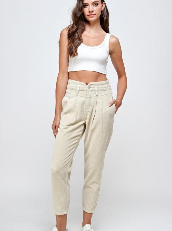 Corduroy Slouch Pant