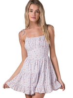 Spaghetti Strap Babydoll Dress