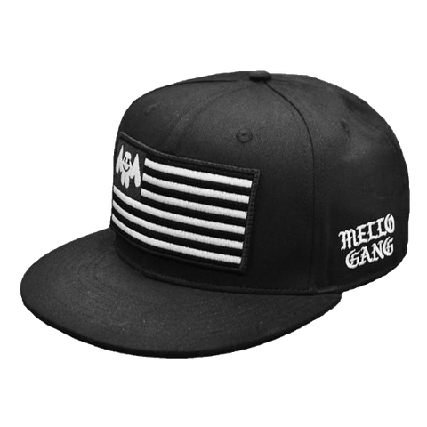 Marshmello Flag Black Snapback