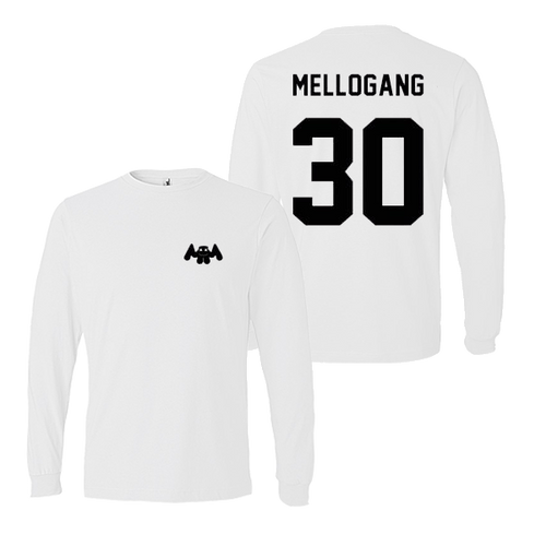 Mello Gang 30 White Long Sleeve